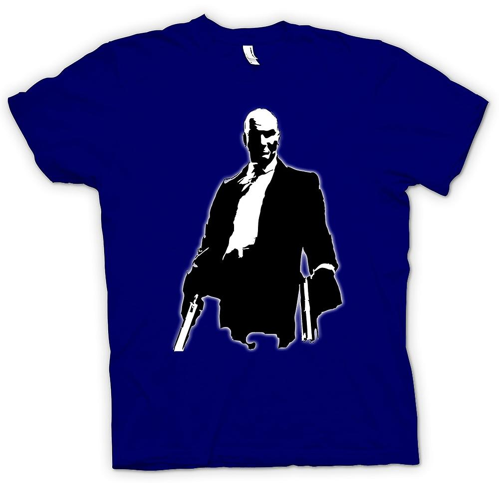 Mens T-shirt - Hitman - Game - Cult