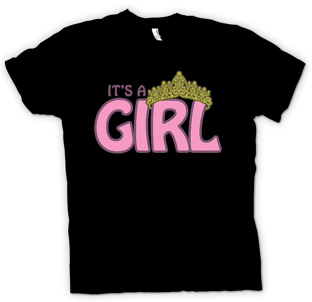Womens T-shirt - it�s a Girl - Baby Princess