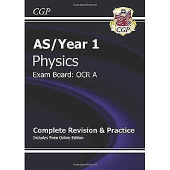 Nueva física de un nivel de 2015: OCR un año 1 y como completar la revisión y práctica con la edición en línea