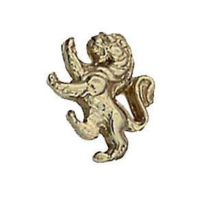 9ct or 11x11mm Lion Rampant Tietack