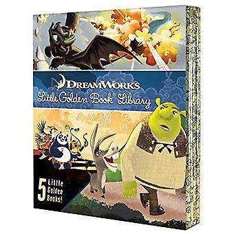 Dreamworks Little Golden Book Library (Little Golden� Book)