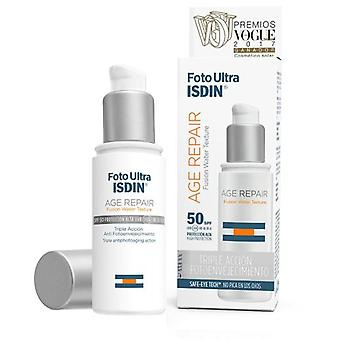Isdin Photo Ultra Age Repair Fluid spf50+ 50 ml (Cosmetics , Face , Treatment creams)