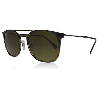 Ray-Ban RB4286 710/73 Havana RB4286 Square Sunglasses Lens Category 3 Size 55mm