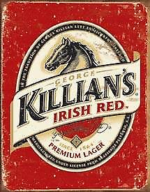 Killians Irish Beer logo metal sign    (de)