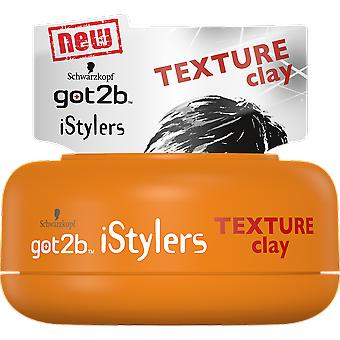 Got2b iStylers Arcilla Texturizante 75 ml (Hair care , Styling products)