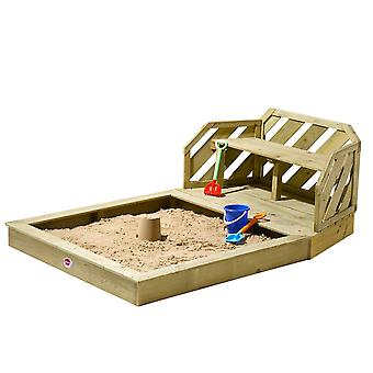 Plum Premium Wooden Sand Pit and Bench Wooden Sand Pit