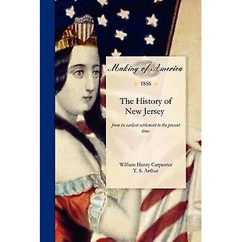 The History of New Jersey by Carpenter & William