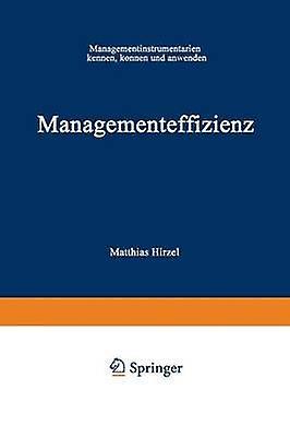 ManageHommesteffizienz  ManageHommestinstruHommestarium kennen knnen und anwenden by Hirzel & Matthias