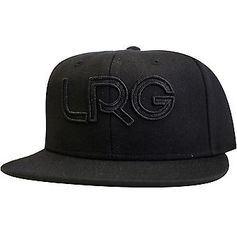Lrg Branded Snapback Hat Black Black