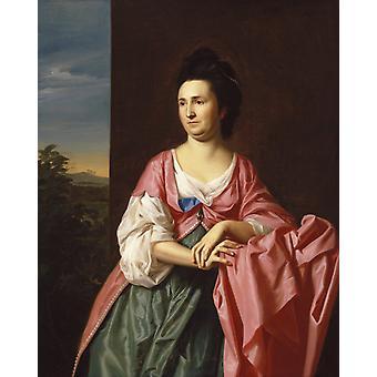 Fru Sylvester, John Singleton Copley, 50x40cm