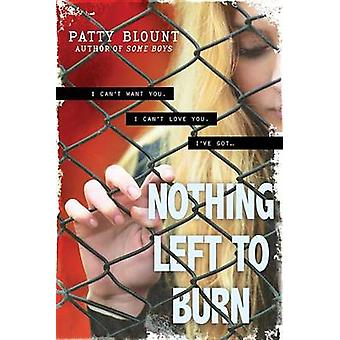 Nothing Left to Burn by Patty Blount - 9781492613299 Book