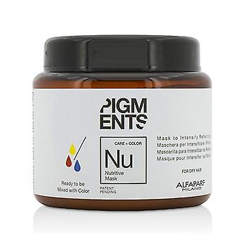 AlfaParf Pigments Nutritive Mask (For Dry Hair) 200ml/6.76oz