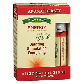 Nature's truth essential oil blend roll-on, focus, 0.33 oz