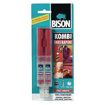 バイソン 2 液エポキシ接着剤 (DIY、ハードウェア)