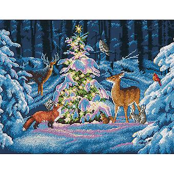 Woodland Glow Counted Cross Stitch Kit 14
