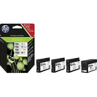 HP Ink 950XL/951XL Combo Pack Original Set Black, Cyan, Magenta, Yellow C2P43AE