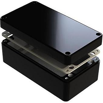 Universal enclosure 260 x 160 x 90 Aluminium Black Deltron Enclosures 487-261609B 1 pc(s)