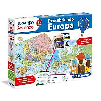 Clementoni Geo Map Discover Europe (Toys , Educative And Creative , Science And Nature)