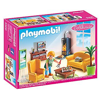 Playmobil Living Room With Fire Place