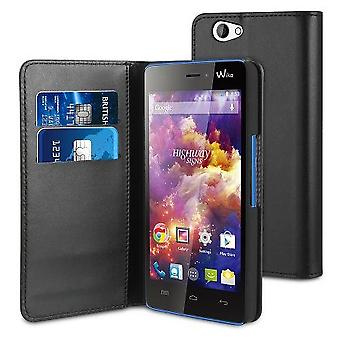Muvit Folio Case wallet function wiko highwaysta suporte
