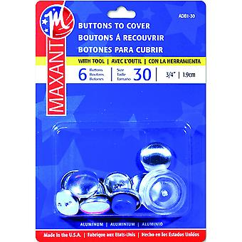 Cover Button Kit-Size 30 3/4