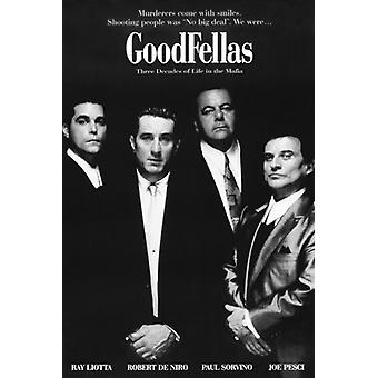 Goodfellas Film Movie Poster drucken Poster Plakat-Druck