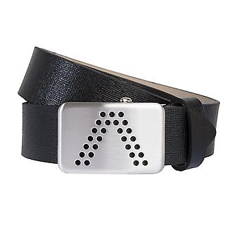 ALBERTO belts men's belts leather belt GOLF black 41