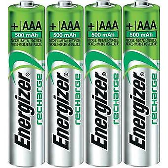 AAA battery (rechargeable) NiMH Energizer Micro-Akku 500 mAh 1.2 V 4 pc(s)
