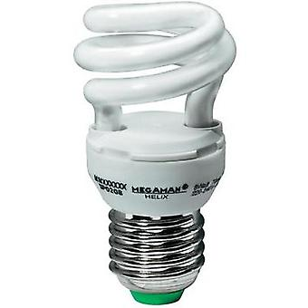 Energy-saving bulb 96 mm Megaman 230 V E27 11 W = 60 W Cold white EEC: A Spiral shape Content 1 pc(s)