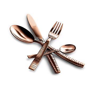 Mepra Tigre Bronzo 5 pcs flatware set
