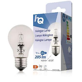 HQ Halogen bulb 18W E27 Classic Gls 205Lm 2800K (Home , Lighting , Light bulbs and pipes)