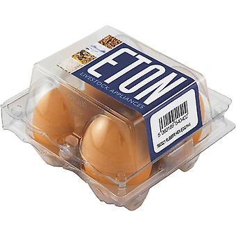 Gummi boet ägg för dvärghöns/fasan 4pack