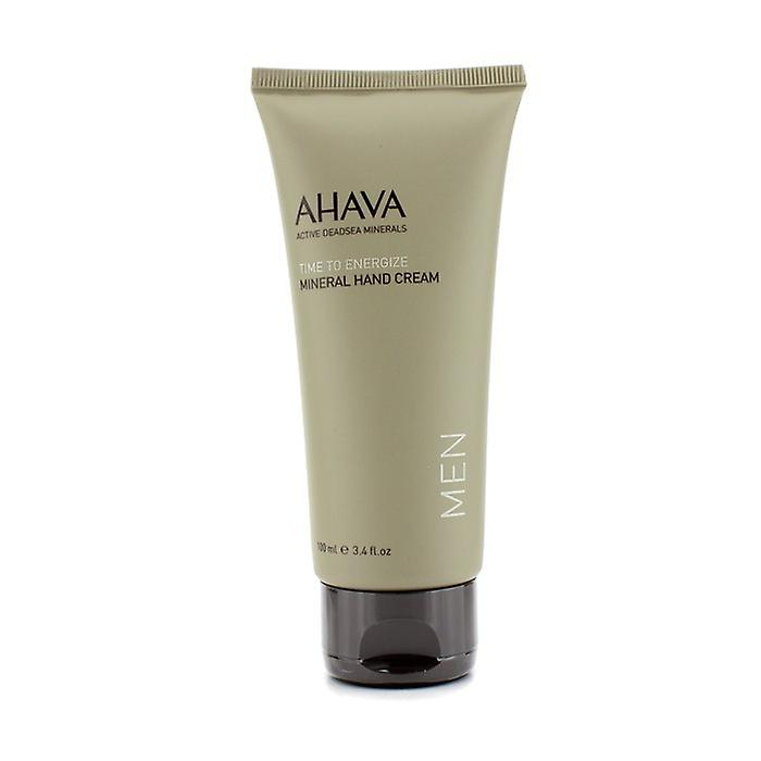 Ahava Time To Energize Hand Cream (All Skin Types) 100ml/3.4oz