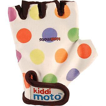 Kiddimoto Kolarstwo rękawice Pastel Dotty