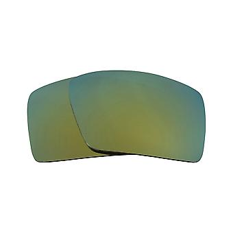 New SEEK Polarized Replacement Lenses for Oakley EYEPATCH 2 Green Mirror