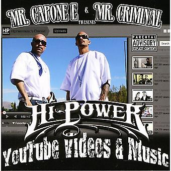 El Sr. Capone-E y el Sr. Criminal Presents - importación de Estados Unidos Hipowermusic.com Videos [CD]