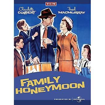 Family Honeymoon [DVD] USA import
