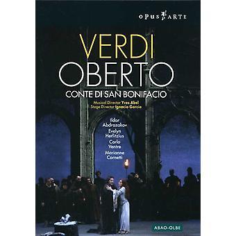 G. Verdi - Verdi: Oberto, Conte Di San Bonifacio [DVD Video] [DVD] USA importerer