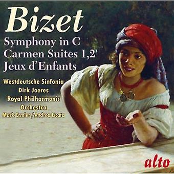 Westdeutsche Sinfonia - Bizet: Symfoni i C; Carmen Suites; Jeux D'Enfants [CD] USA importerer