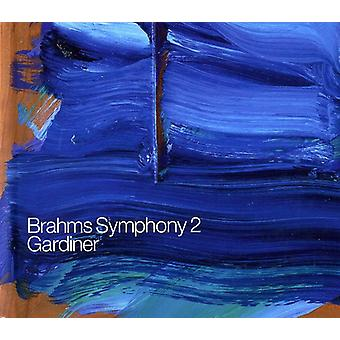 J. Brahms - Brahms: Symfoni No. 2 [CD] USA import
