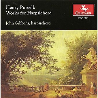 Henry Purcell - Purcell: Works for Harpsichord [CD] USA import