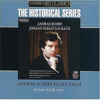 Andras Schiff - Andras Schiff spiller Bach [CD] USA import