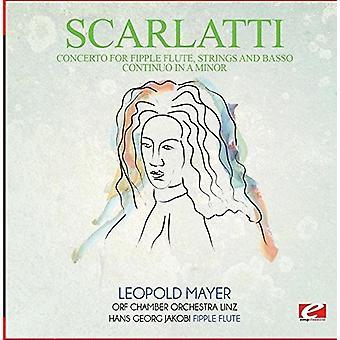 Scarlatti - Allegro de concierto para importar de USA cuerdas Fipple Flute [CD]