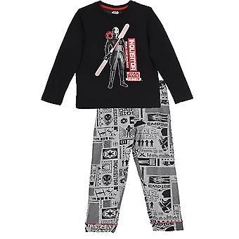 Jongens Star Wars lange mouw pyjama's \ instellen