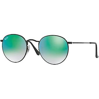 Ray-Ban runde Metal Cateye solbriller RB3447-002/4J