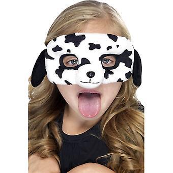 Hunden drakt maske barn dyr maske hunden dalmatiske maske øye maske plysj barn