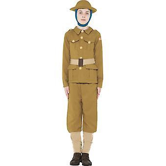 junger Soldat Scout WWI Boy Kinderkostüm