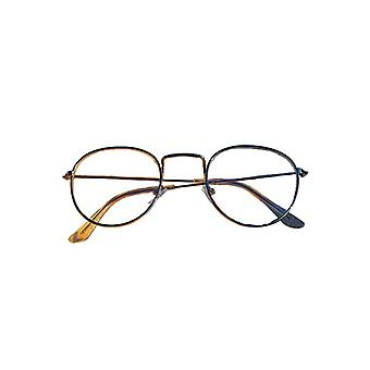 Coole urbane Mode Brille gold