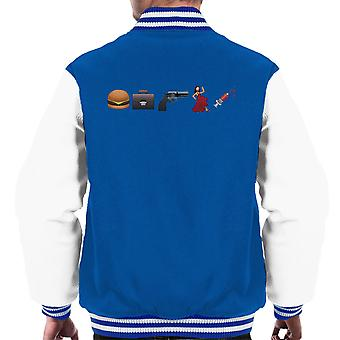 Emoji Pulp Fiction mænds Varsity jakke