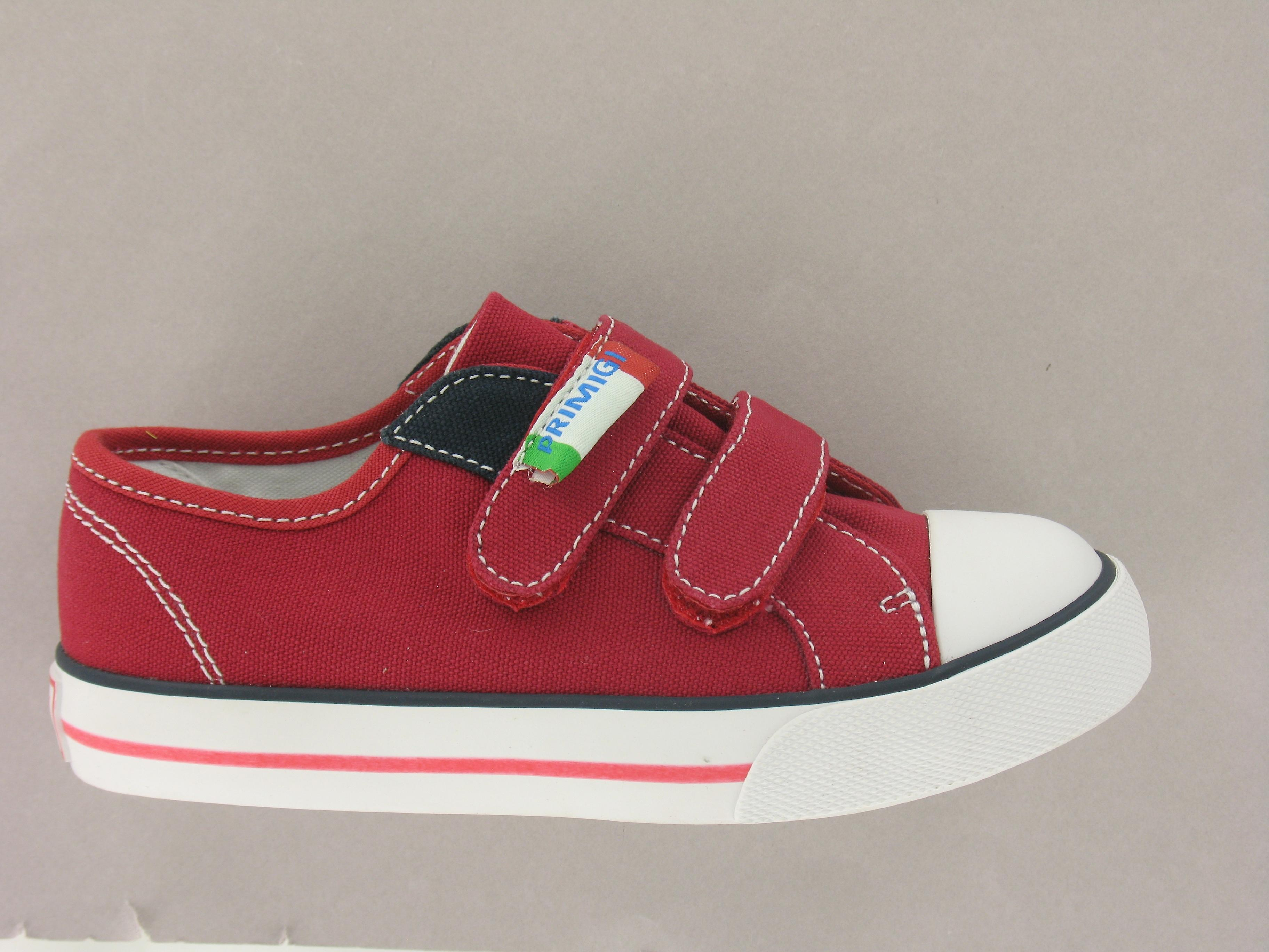 Chaussures Primigi Collège Red Toile